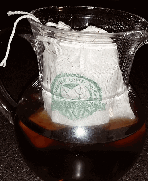 Madesco cold brew coffee in pitcher